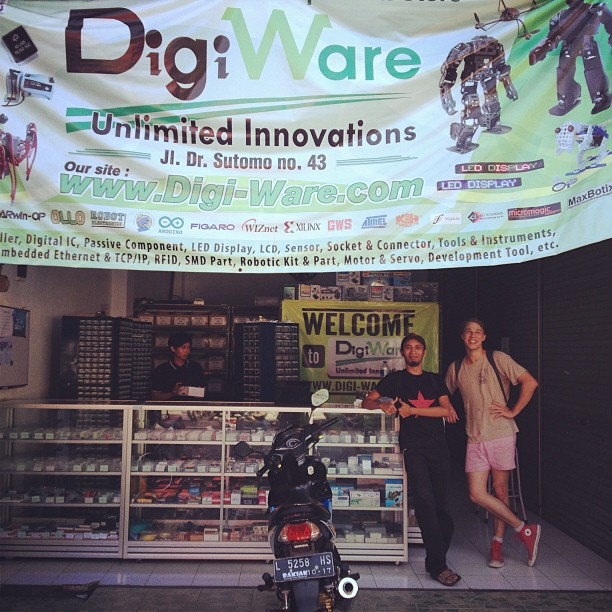 Andreas and Michael at DigiWare