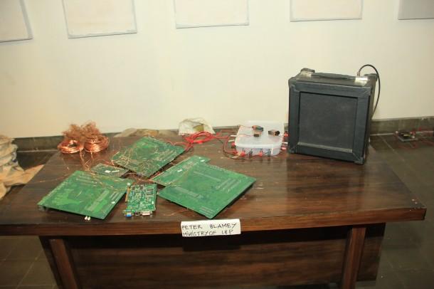 Desk of Peter Mlamey, IBP