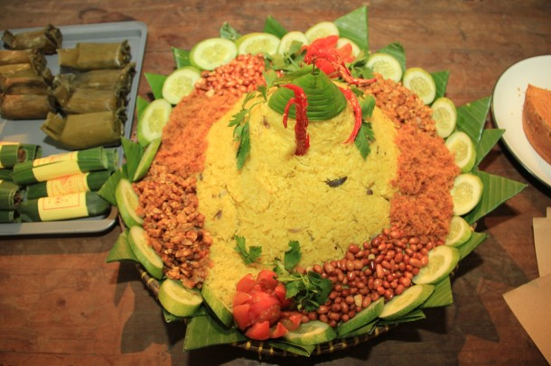 Tumpeng Ceremony