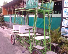 mills, wheels and odong-odong dingdong.